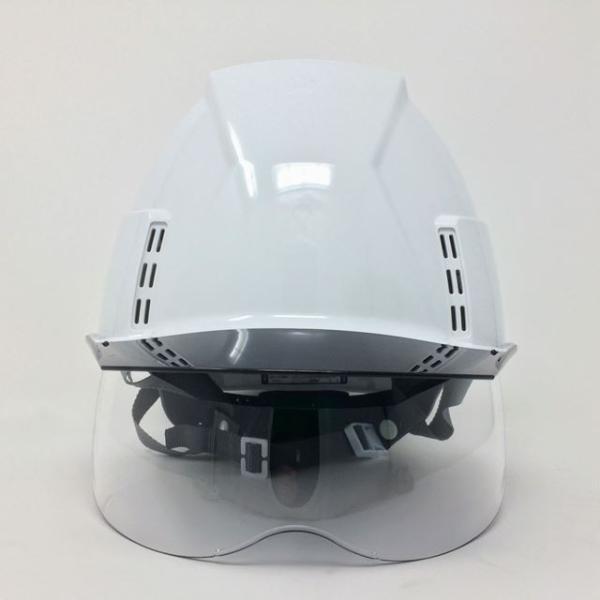 スミハット KKXCS-A-NCOOL Nクール 横長コンパクトシールド面付き 遮熱ヘルメット(通気孔付き/圧縮エアシート)/ 工事 作業 建設 建築 現場 高所 安全 保護帽|proshophamada|02