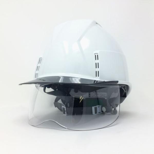 スミハット KKXCS-A-NCOOL Nクール 横長コンパクトシールド面付き 遮熱ヘルメット(通気孔付き/圧縮エアシート)/ 工事 作業 建設 建築 現場 高所 安全 保護帽|proshophamada|03