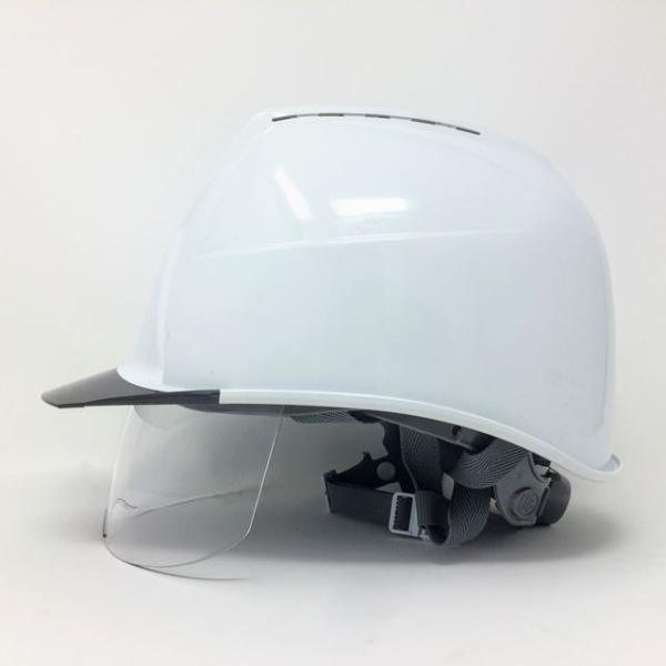 スミハット KKXCS-A-NCOOL Nクール 横長コンパクトシールド面付き 遮熱ヘルメット(通気孔付き/圧縮エアシート)/ 工事 作業 建設 建築 現場 高所 安全 保護帽|proshophamada|04