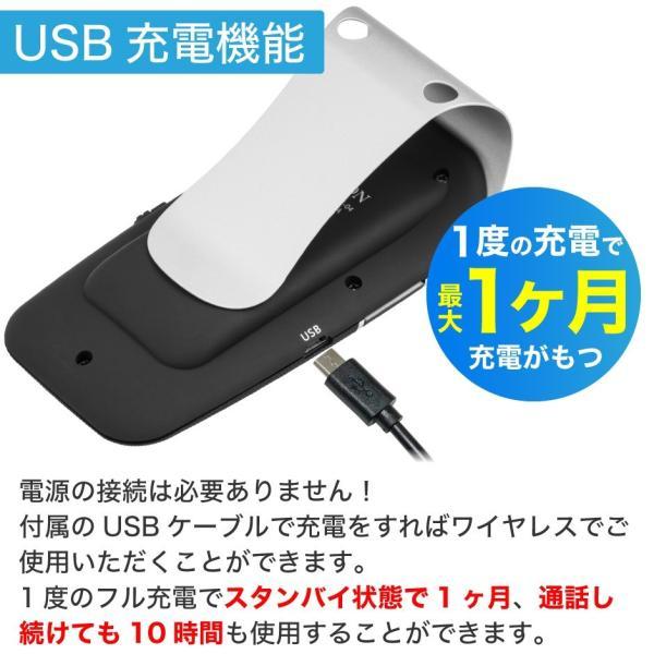 車載用 自動車用 ハンズフリー 通話 スピーカー フォン 車 スマホ bluetooth4.1 車載用品 車中泊 グッズ FMトランスミッター 併用可|protection|15