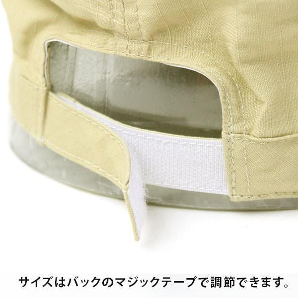 帽子 メンズ キャンプ ワークキャップ 大きいサイズ リップストップ キャップ アウトドア レディース フェス 送料無料|protocol|09