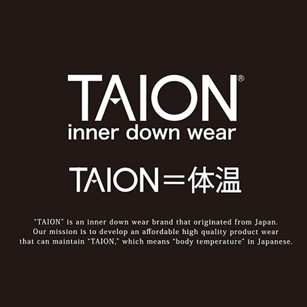 タイオン インナーダウン ベスト ビジネス メンズ インナーダウンベスト TAION V TAION-001|protocol|03