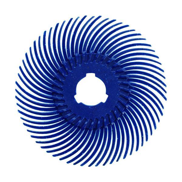 TRUSCO ラジアルブラシディスクΦ50.8#120青 (TBR50.8X120)