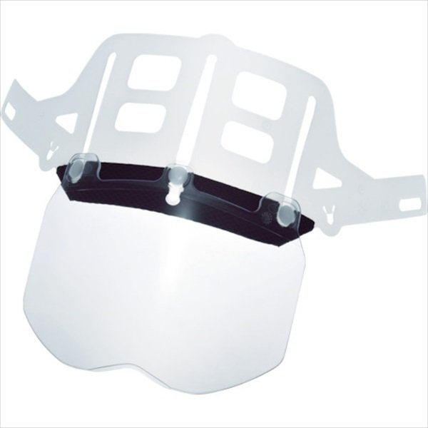ミドリ安全 ヘルメット 交換用シールド面 SC-11用 (4007100903)
