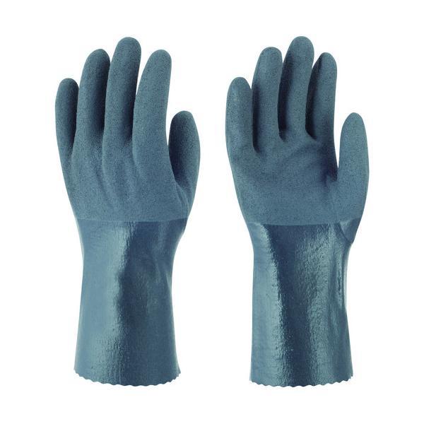 トワロン ニトリルゴム手袋 耐油ニトリルパワーロング L (502-L)