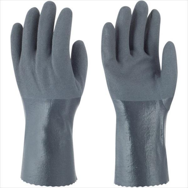 トワロン ニトリルゴム手袋 耐油ニトリルパワーロング S (502-S)