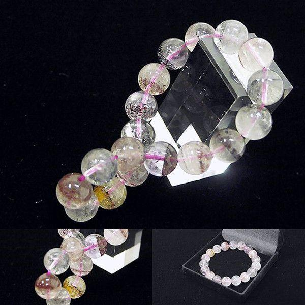 [Original天然石] キラキラMIX スーパーセブン ブラジル産 [9〜9.5mm]100020|proud|03
