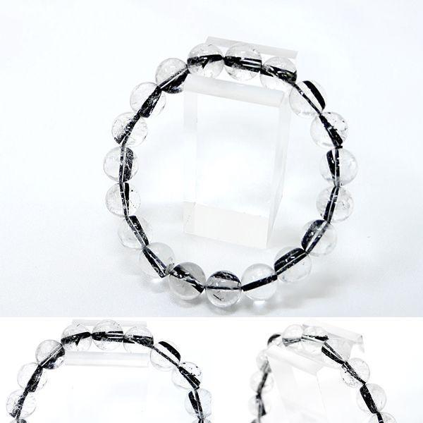 [Original天然石] 極太柱入り 黒針タイチンルチル [10mm]100053|proud