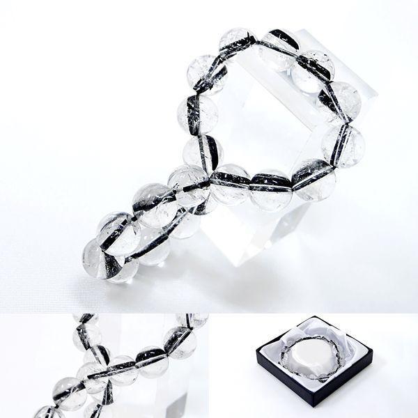 [Original天然石] 極太柱入り 黒針タイチンルチル [10mm]100053|proud|03