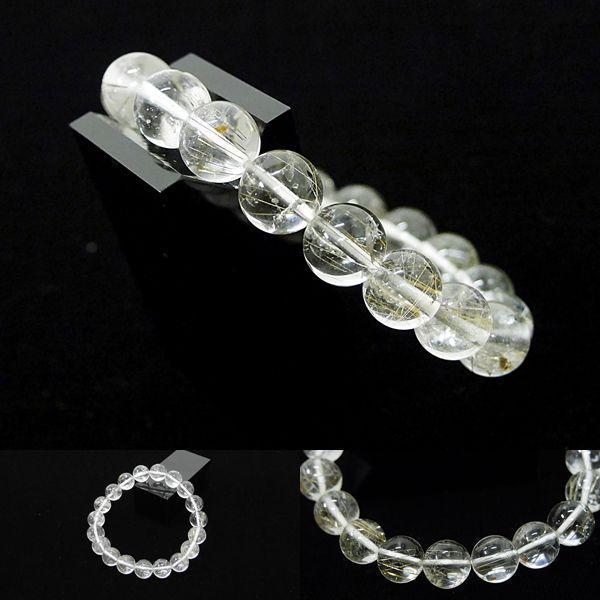 [Original天然石] 細針の輝き シルバールチル [11mm]100059 proud 02
