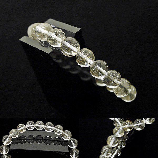 [Original天然石] 透明輝く銀針 シルバールチルA4 [9mm]100095 proud 02