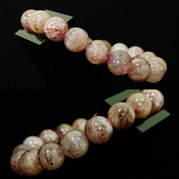 [特選品天然石] 淡色 ピンクエピドート [11.5mm]100139|proud|02
