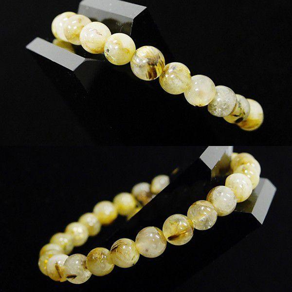 [特選品天然石] ゴールドルチル [7mm]100152|proud|02