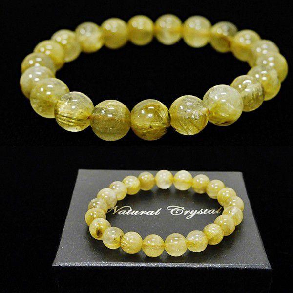 [特選品天然石] 濃密 ゴールドルチル [9.5mm]100155|proud|03
