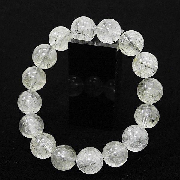 [特選品天然石] ブラックルチル [13.5mm]100157|proud
