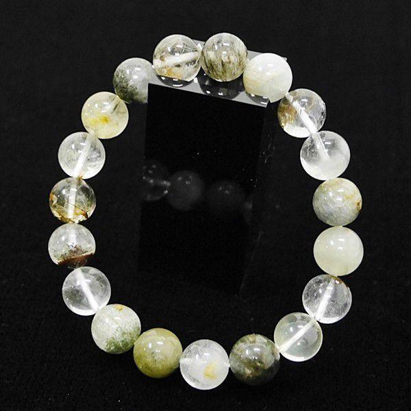 [特選品天然石] ガーデンクオーツ 庭園水晶 [10.5mm]100163|proud