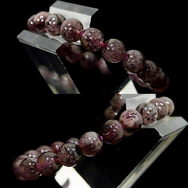 [特選品天然石] 濃色 ピンクエピドート [9mm]100173|proud|02