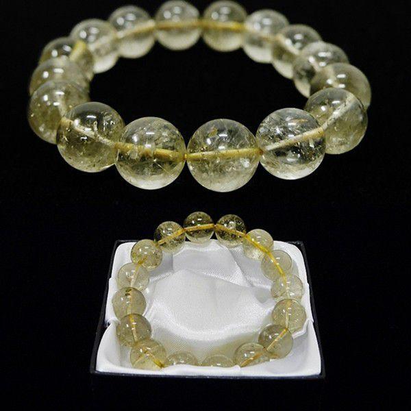 [特選品天然石]スモーキー  ゴールドルチル [14mm]100201|proud|03