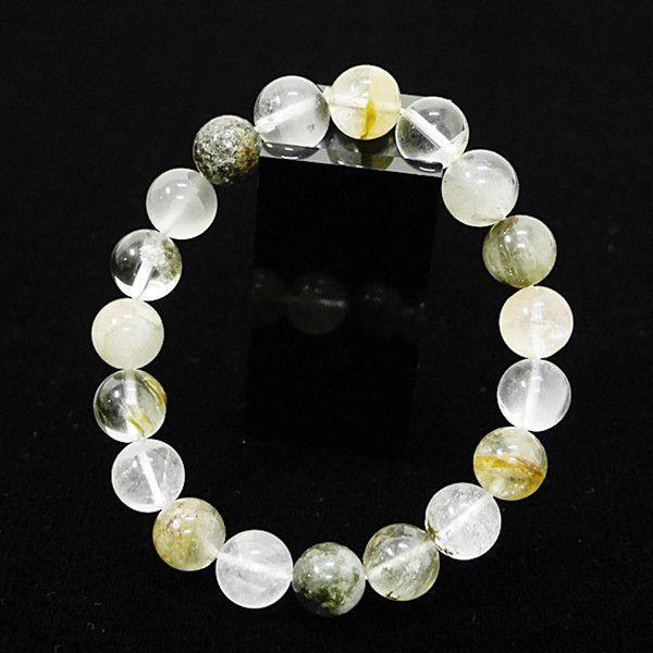[特選品天然石] ガーデンクオーツ 庭園水晶 [10.5mm]100209|proud