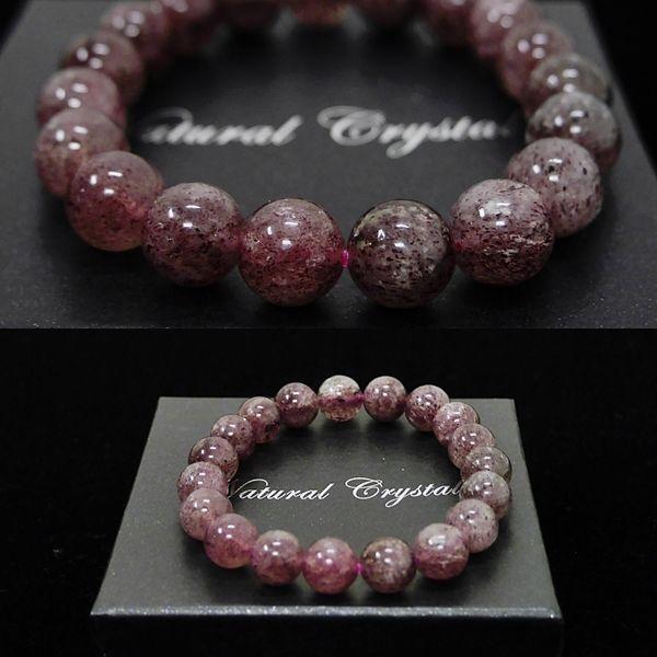[特選品天然石] 濃色 ピンクエピドート [10.5mm]100111|proud|03
