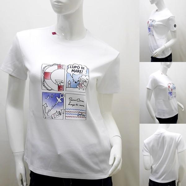 シナコバ レディース ¥16000+税[9号] 半袖Tシャツ LUPO DI MARE アニメプリントデザイン 20221046       sc KNs l 20180540|proud|02