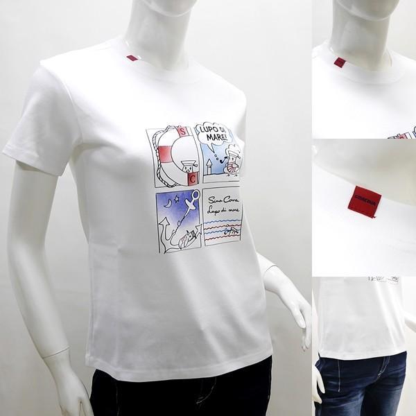 シナコバ レディース ¥16000+税[9号] 半袖Tシャツ LUPO DI MARE アニメプリントデザイン 20221046       sc KNs l 20180540|proud|03