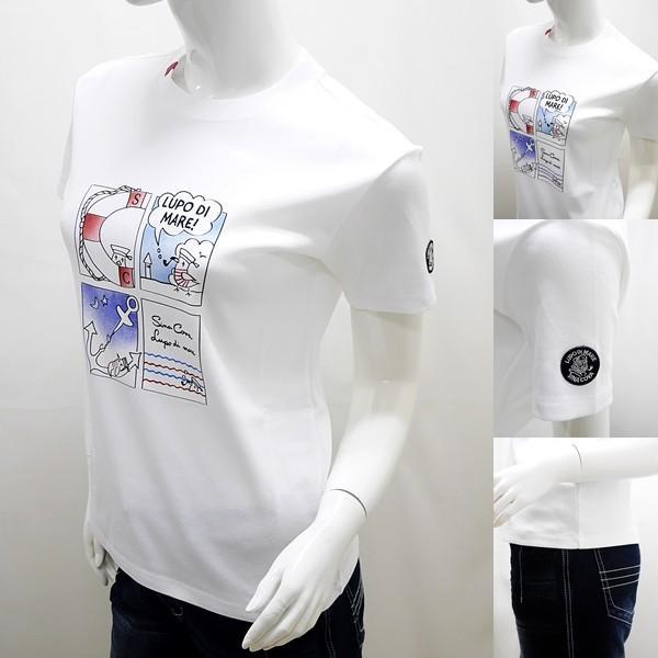 シナコバ レディース ¥16000+税[9号] 半袖Tシャツ LUPO DI MARE アニメプリントデザイン 20221046       sc KNs l 20180540|proud|04