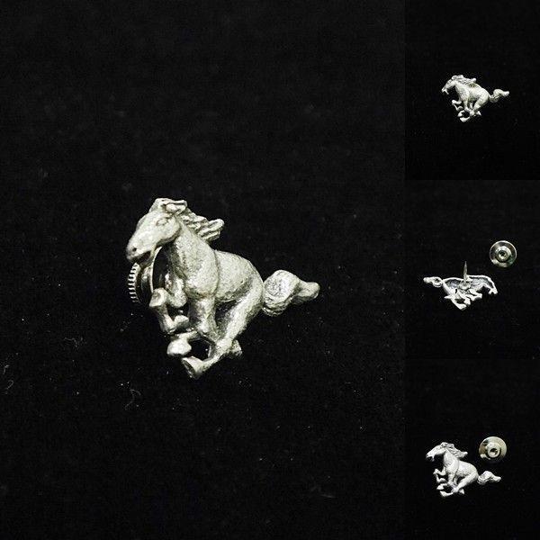 [Original]¥2000+税 [F] メタルサラブレット(馬) ピンズ  ] 4102706      aiTA10 proud 02