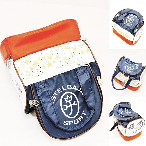 カステルバジャック ¥12000+税 [F]ラウンド バッグ ボックスモデル ゴルフ レディース/メンズ]60127052       jcTSsm 24803|proud|05