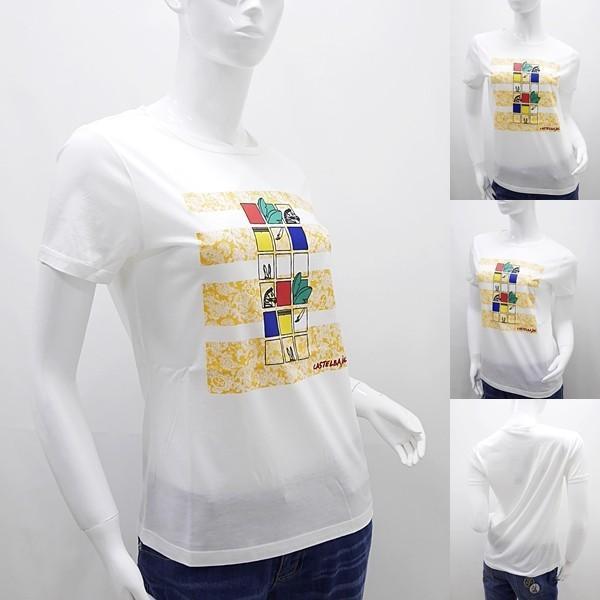 [カステルバジャックレディースアウトレット]¥15000+税 [11号]半袖Tシャツ COOL LAUREL]60127081              jcTSsl 22970|proud|05