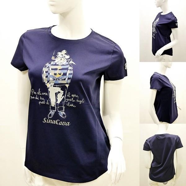 シナコバ レディース¥13000+税 [F]半袖Tシャツ フロントキャッチーモデル]80118111 -e             scTYsl 17180510|proud|02