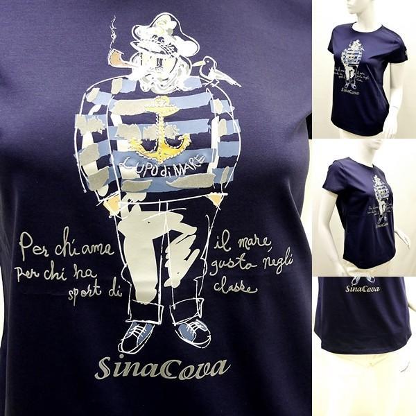 シナコバ レディース¥13000+税 [F]半袖Tシャツ フロントキャッチーモデル]80118111 -e             scTYsl 17180510|proud|04