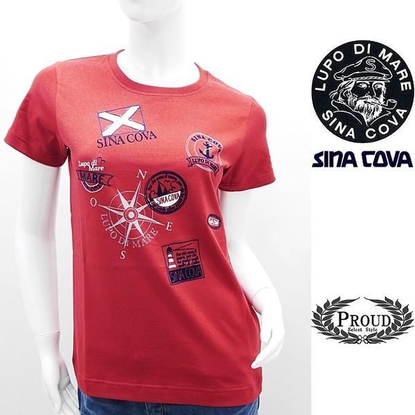 シナコバ レディース¥11000+税 [F]半袖 Tシャツ フロントデザイン]60206093             scTSsl16110630|proud