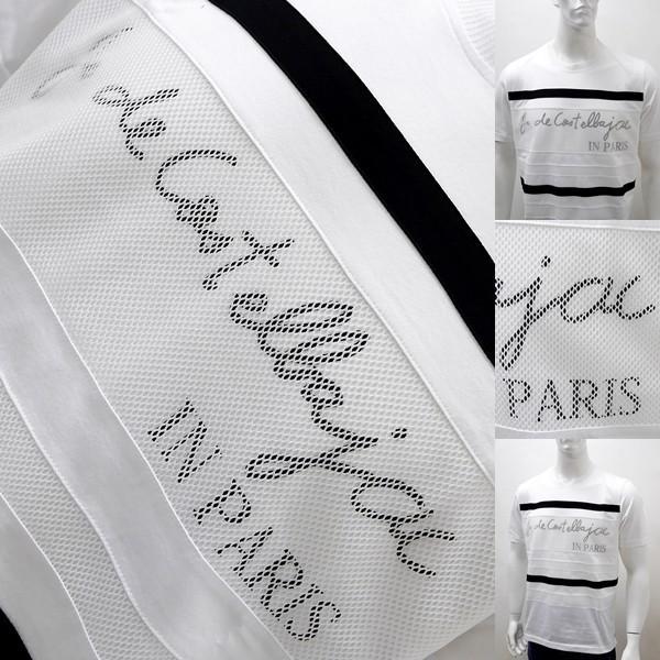 [カステルバジャックアウトレット]¥23000+税 [L]半袖Tシャツ メッシュレイヤード Swiss Cotton Premium]70204031              jcTYsm  21370|proud|04
