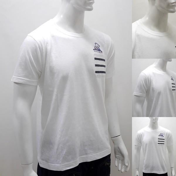 シナコバ アウトレット¥18000+税 [L]半袖 Tシャツ メンズ GENOVA STYLE]80118015                 scTYsm 17120520|proud|03