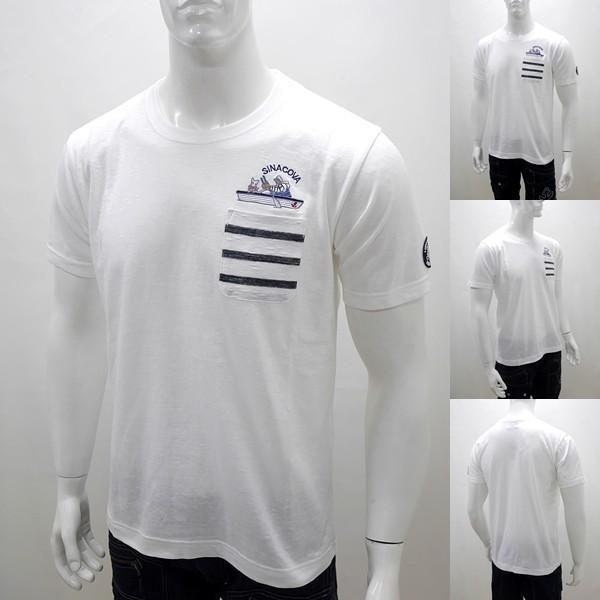 シナコバ アウトレット¥18000+税 [L]半袖 Tシャツ メンズ GENOVA STYLE]80118015                 scTYsm 17120520|proud|05