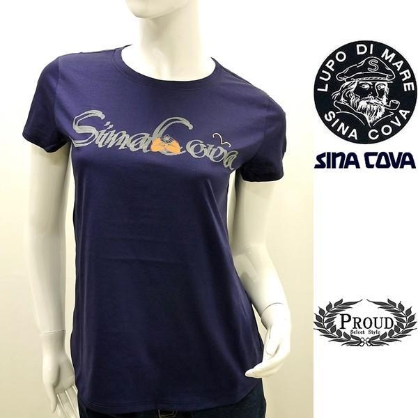 シナコバ レディース 特選品¥12000+税 [F]半袖 Tシャツ グラフィックロゴデザイン] 70210071            scTYsl 17180530|proud