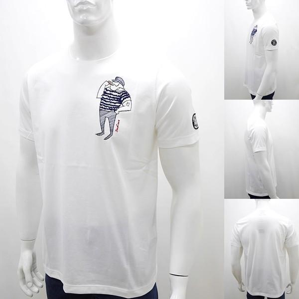 シナコバ 特選品¥15000+税 [L]半袖 Tシャツ メンズ クルーネック ニューキャラクターバージョン SINACOVA PORTOFINO] 80208003        scTIsm 18130510|proud|02