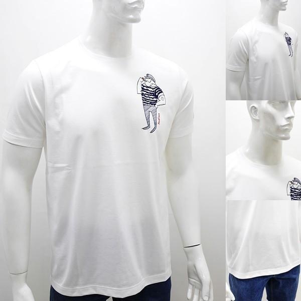 シナコバ 特選品¥15000+税 [L]半袖 Tシャツ メンズ クルーネック ニューキャラクターバージョン SINACOVA PORTOFINO] 80208003        scTIsm 18130510|proud|03