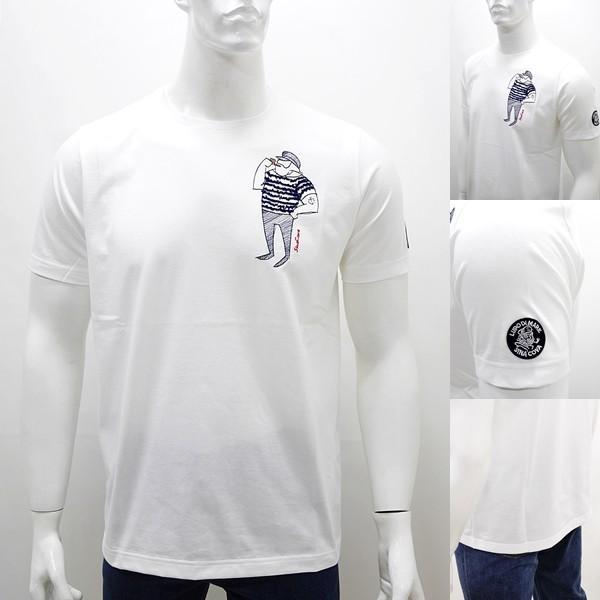 シナコバ 特選品¥15000+税 [L]半袖 Tシャツ メンズ クルーネック ニューキャラクターバージョン SINACOVA PORTOFINO] 80208003        scTIsm 18130510|proud|04