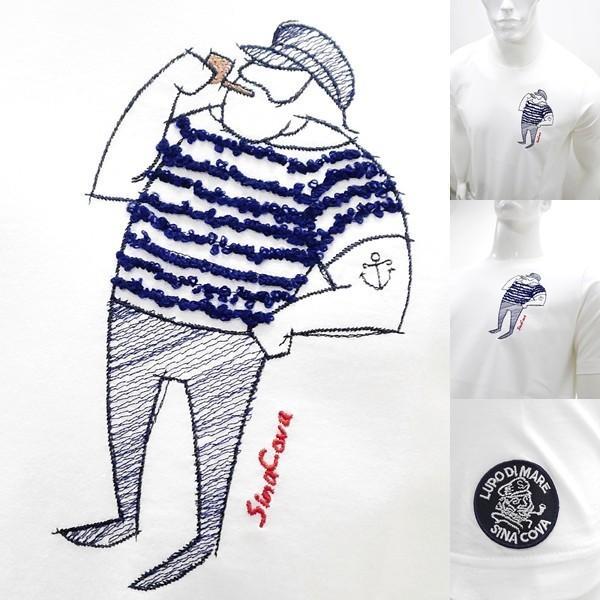シナコバ 特選品¥15000+税 [L]半袖 Tシャツ メンズ クルーネック ニューキャラクターバージョン SINACOVA PORTOFINO] 80208003        scTIsm 18130510|proud|05