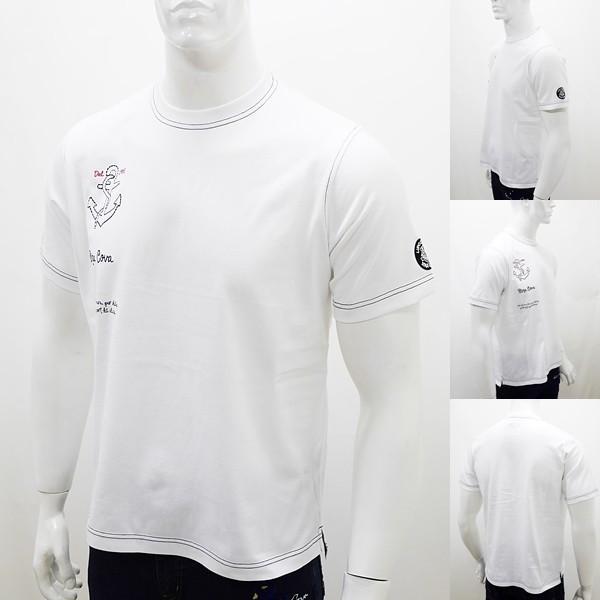 [シナコバ]¥12000+税 [LL]半袖Tシャツ 刺繍ポイントデザインSINACOVA PORTOFINO] 80208038                 scTIsm 18130530|proud|02