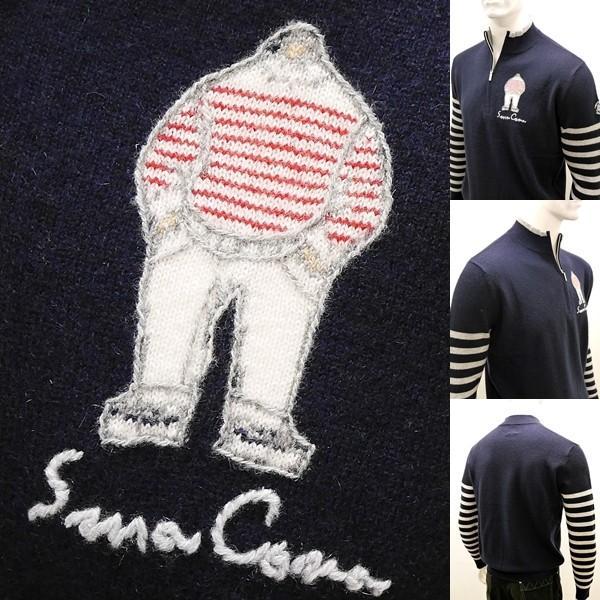 シナコバ アウトレット¥56000+税 [L]セーター メンズ カシミア100% ハイゲージハーフジッププルオーバー SINACOVA GENOVA] 80802050        scTYfm 17222020|proud|05