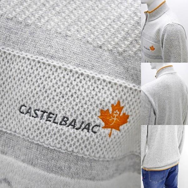カステルバジャック 特選品¥38000+税 [L]セーター メンズ BEARS CANADA ジャガードチェンジデザイン]80822071              jcTIfm 21980|proud|05