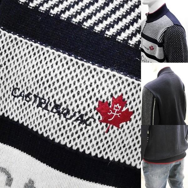 カステルバジャック ¥38000+税 [L]セーター BEARS CANADA ジャガードチェンジデザイン]80822072              jcTIfm 21980|proud|05