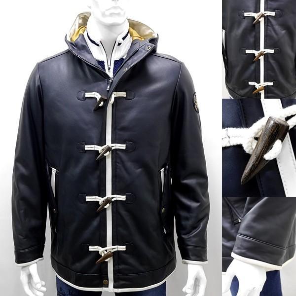 シナコバ ¥160000+税 [L]レザージャケット 羊革ダッフルスタイル SINACOVA GENOVA] 80901049                scTIfm 18023920|proud|04