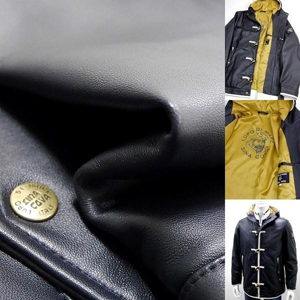 シナコバ ¥160000+税 [L]レザージャケット 羊革ダッフルスタイル SINACOVA GENOVA] 80901049                scTIfm 18023920|proud|09