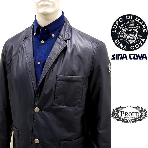 シナコバ ¥53000+税 [L] ジャケット メンズ ライトウエイトキルティング カジュアルテーラード SINACOVA PORTOFINO] 80901058                scTIfm 18233050|proud