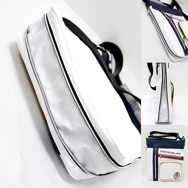 カステルバジャック ¥13000+税 [F]ショルダー バッグ メンズ/レディース ファスナーデザインワーク 90203011              jcTCsm 23003|proud|03
