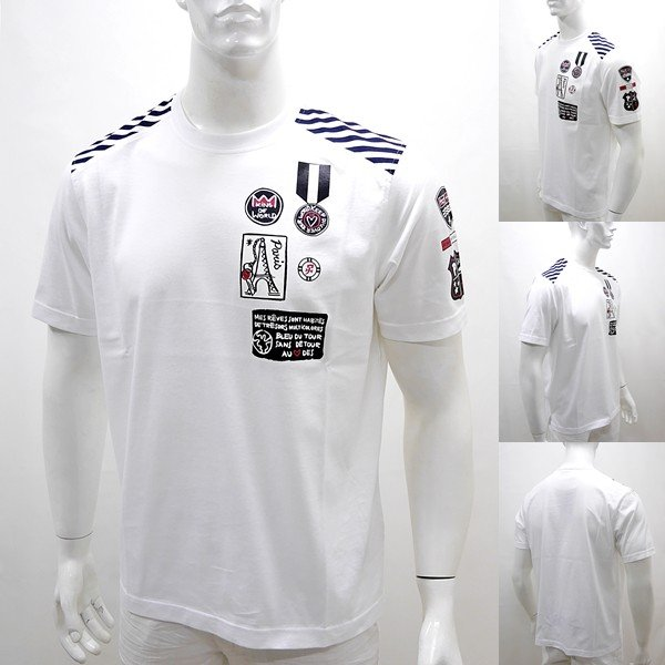 カステルバジャック アウトレット ¥20000+税 [L/48]半袖 Tシャツ メンズ KING OF WORLD PARIS Swiss Ctton Premium 90203022  jcTCsm 21070|proud|02